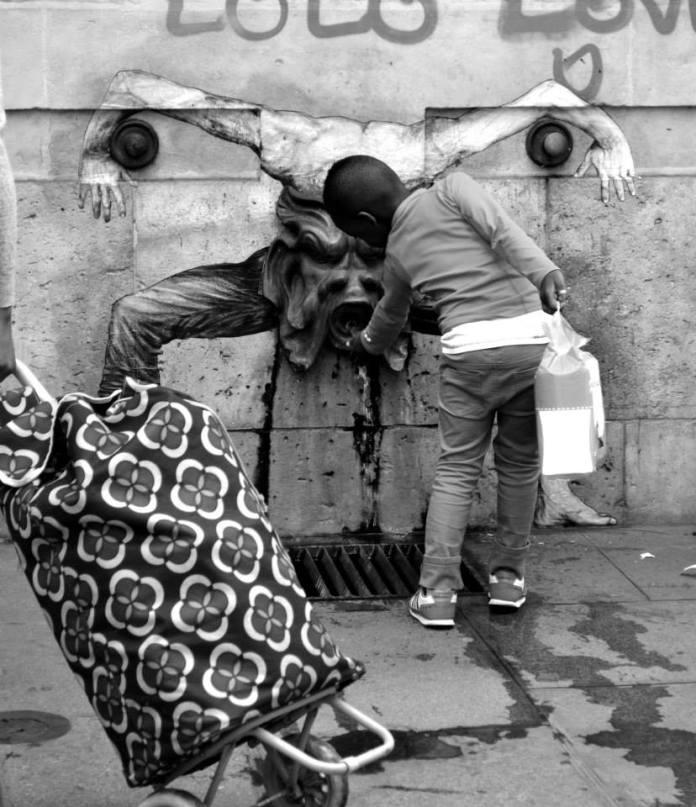 Street Art by Levalet in Paris, France 5 5674
