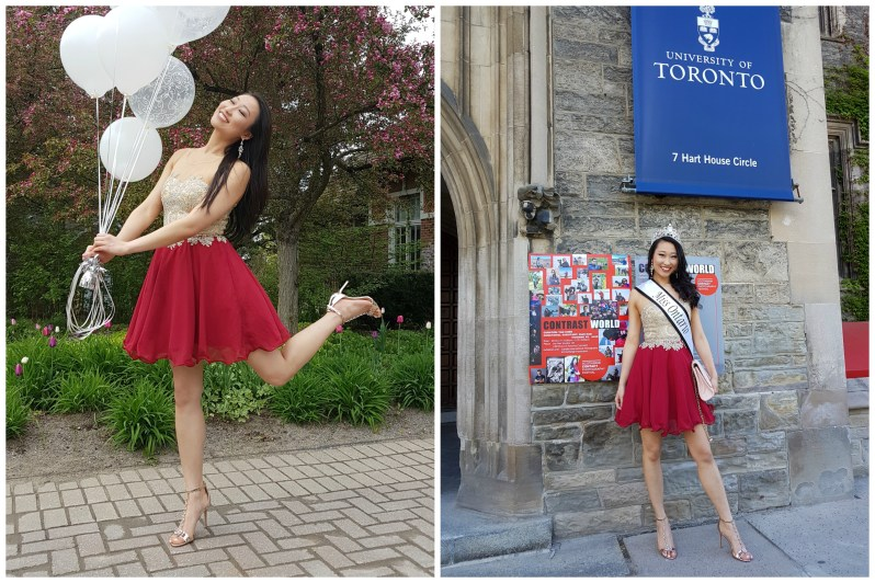 Miss Ontario World 2018 - Alice Li, street fashion Toronto
