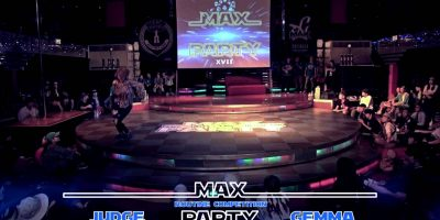 MAX PARTY XVII ROUTINE COMPETITION JUDGE GEMMA