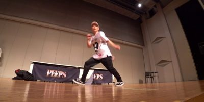 SHUHO(TOKYO FOOTWORKZ / HOUSE OF NINJA) JUDGE DEMO / B.o.P(Battle of PEEPS) vol.6 DANCE BATTLE