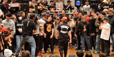 【KOB7】 LADYS FINAL Queen Twiggz vs MINAMI