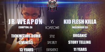 KBL Presents JR WEAPON vs KID FLESHKILLA