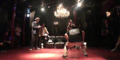 ICHI NABETA ちっひー JUDGE SESSION BackGround!! vol.1 FINAL STAGE LOCK DANCE BATTLE