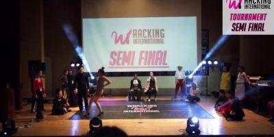 [2017WaackingInternational Semi Final Queen Taa(KR) vs Wizzard(KR)]