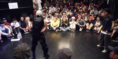 anju vs YAZAKI BEST8 THE REAL vol.4 LOCK DANCE BATTLE