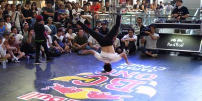 KAKU vs TSUKKI EXHIBITION HEADSPIN BATTLE Red Bull BC One 2017 Japan Cypher