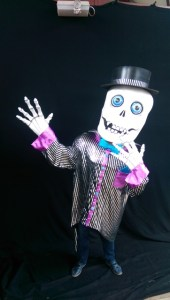 halloween themed entertainers, Dracula, Mummy costume, street entertainer ireland, sKeleton