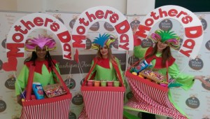 Mothers day entertainers, retail entertainment