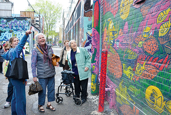 Central Eglinton Community Centre older adult program