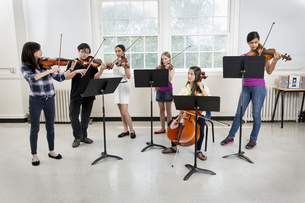 DIGITAL LOVE: Students of the University of Toronto Schools music program have the opportunity to compose original recordings for the school's Twig Tapes, which has been a tradition for 30 years. Recently, the school digitally archived the music over the last three decades, dubbing it uTunes.