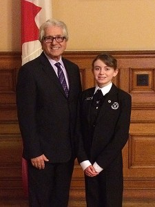 MPP Mike Colle and Arlyne James