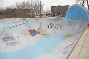 Existing skate park