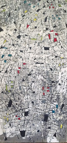 CITY OVERVIEW: North Toronto artist Anastessia Bettas uses her works to examine urban environments often through aerial views of grids.