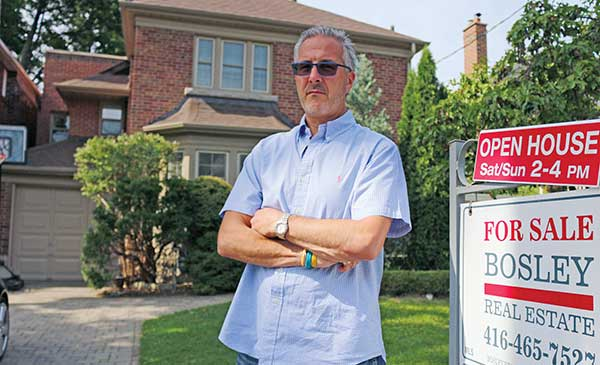 NEIGHBOURHOOD WATCHER: Realtor Patrick Rocca has seen growth in foreign buyers in Leaside but it's great for sellers in the area, he says.