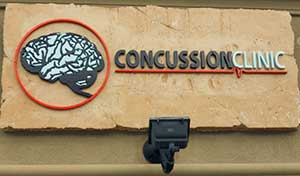 Concussion Clinic sign