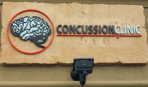Concussion Clinic sign