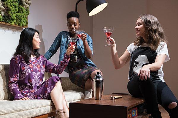 Rong Fu, Natasha Mumba and Liz Peterson