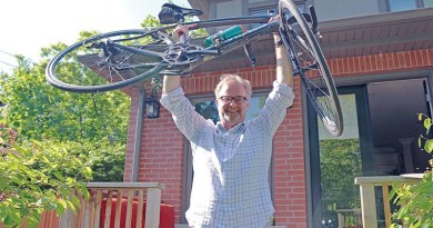 Bruce Moore on Enbridge Ride to Conquer Cancer