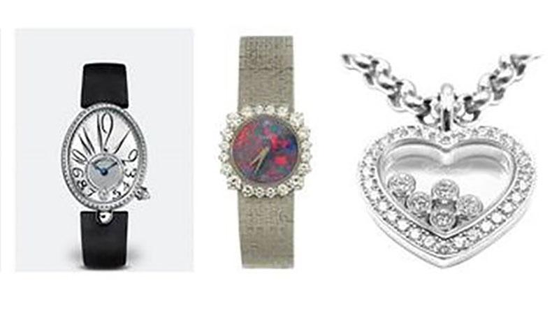Two-storey theft nets jewellery