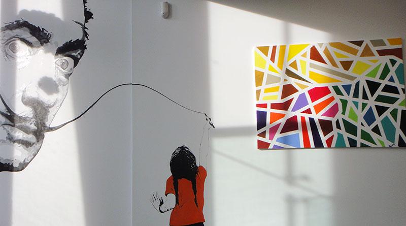 Mural at CLAP Art Studio