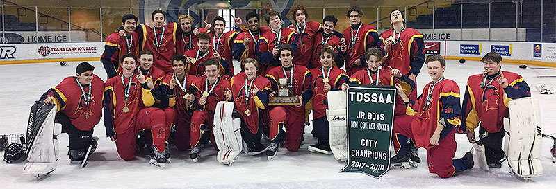 Northern's junior hockey team