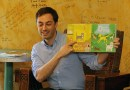 Children's author entertains at Mabel's Fables