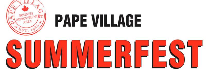 Pape Village Summerfest logo