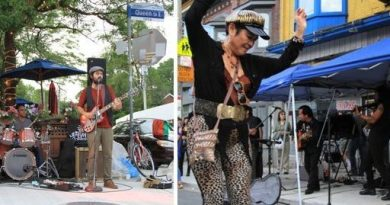 July 26–28: Jazz festival streetfest on Queen St. E.