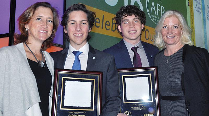 Award for philanthropic work