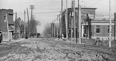 Danforth and Broadview 1908