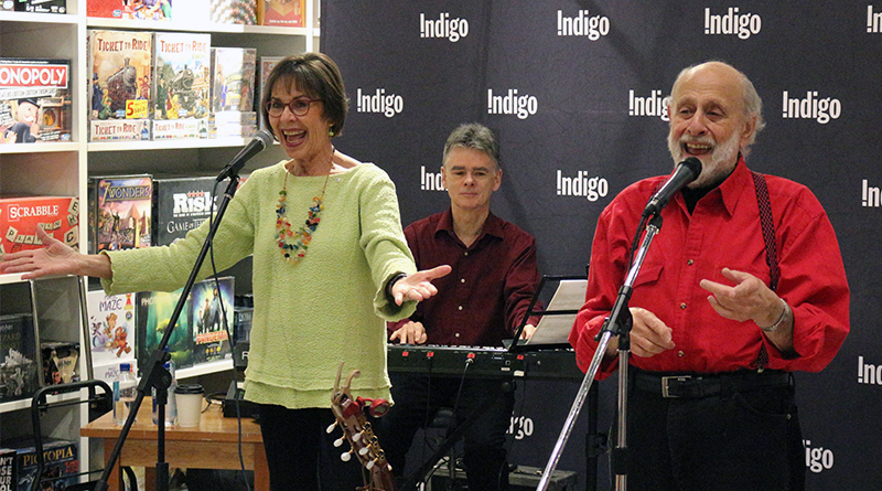 Sharon and Bram at Indigo