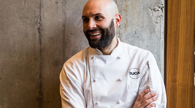 Buca chef Rob Gentile