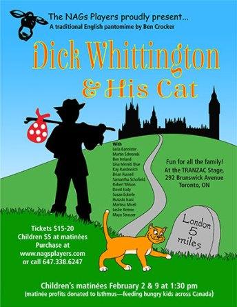 Dick Whittington poster