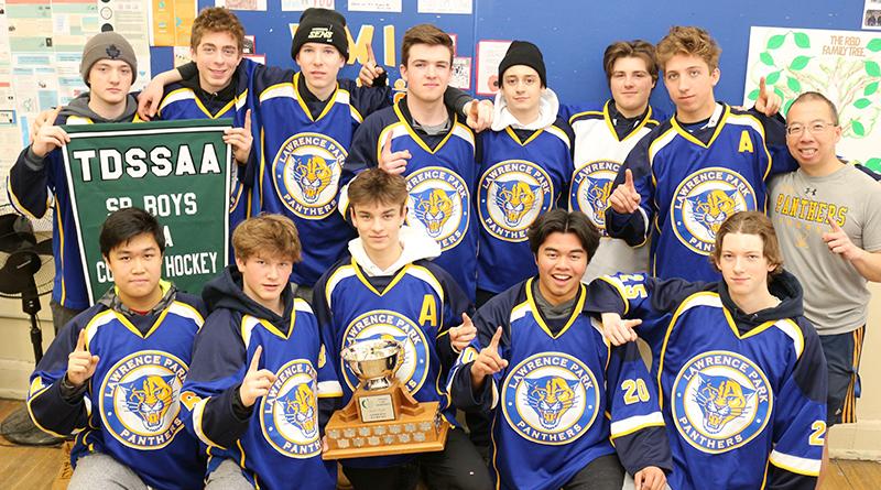 Winning Panthers team