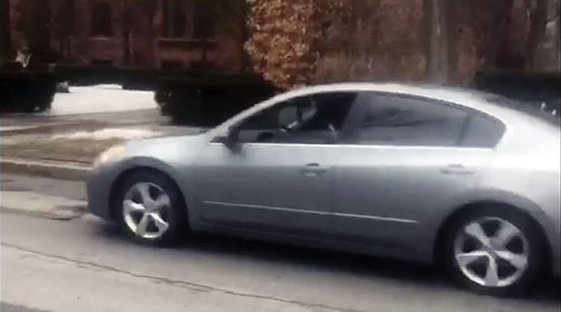 Car on Rosedale streets