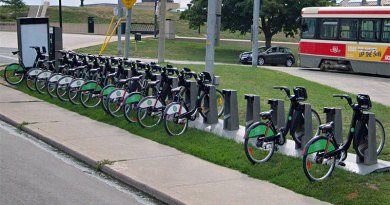Bike Share at Neville Loop