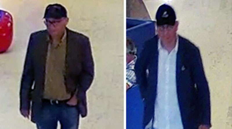 Two men sought after purses stolen