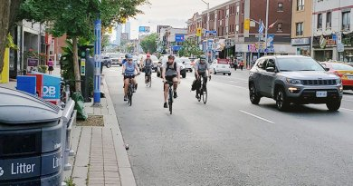 Missing bike lanes on Danforth