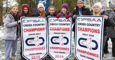 Leaside's three winning cross country teams