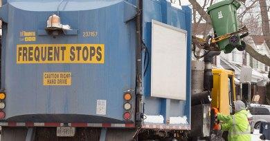 garbage pickup after ratification
