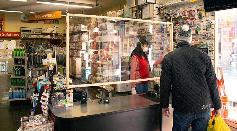 businesses handling pandemic
