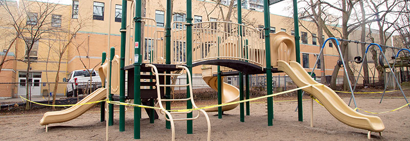 playground header for Forest Hill update