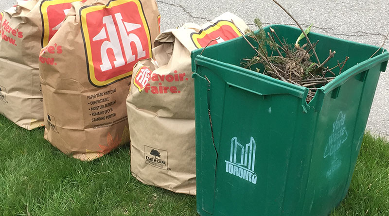 yard waste pickup
