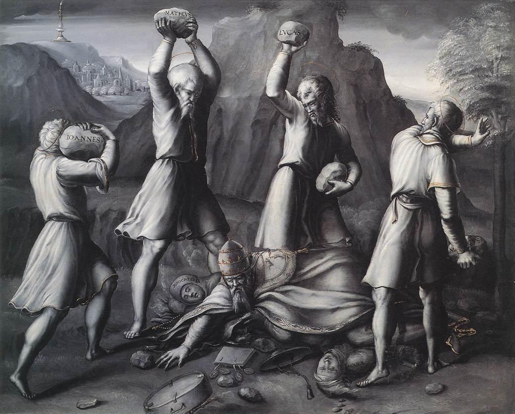 A Protestant Allegory, by Pennacchi Gerolamo de Pier-Marie
