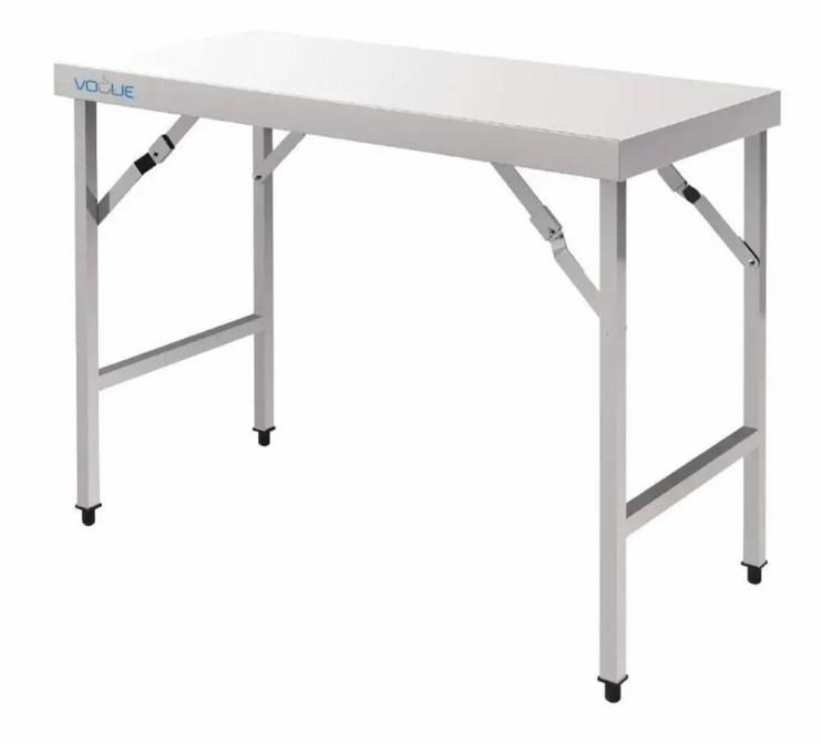 folding table for market stalls