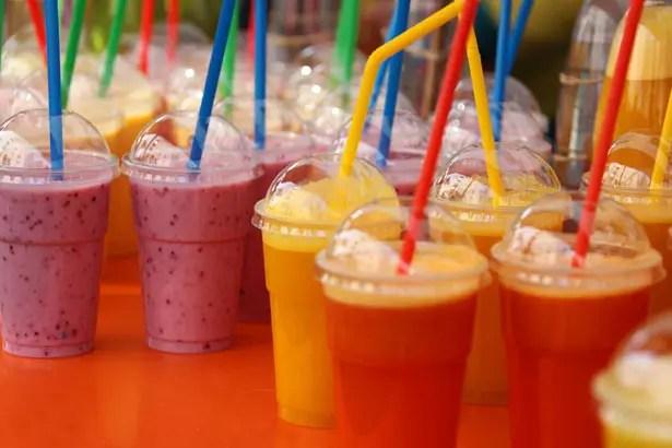 Food Truck Menu Ideas - smoothies