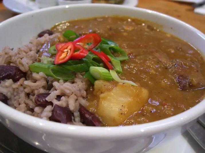 Food Truck Menu Ideas - curry goat