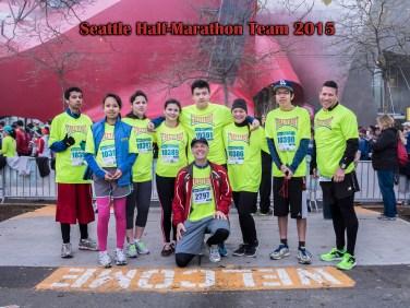2015 Seattle Half-Marathon Team