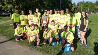Pre- Full marathon runners