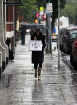 On the street - Lord and Taylor's - Shopping between the shows
